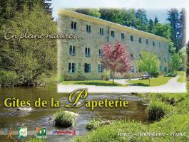 Moulin la papeterie - Haute Loire - Auvergne