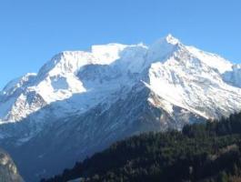 Studios Saint Gervais Les Bains avec vue panoramique sur le Mont Blanc