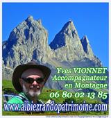 Randonnées Albiez, tour Vanoise, Yves Vionnet Savoie Mont Blanc Alpes