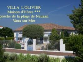 VILLA L'OLIVIER Maison d'Hôtes de charme - Boutinon
