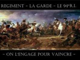 Régiment La GARDE - 94°R.I.