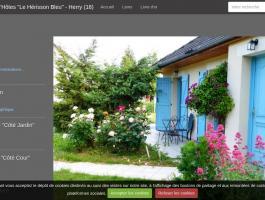 """Chambres d'Hôtes """"Le Hérisson Bleu""""  - Herry (18)"""