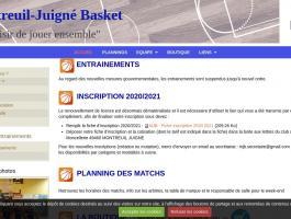Montreuil-Juigné Basket