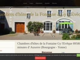 Chambres d'hôtes de la Fontaine à Gy L'Evêque