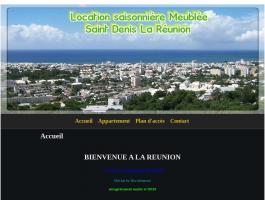 Location Saisonnière Studio Meublé Chambre Résidence Hôtelière Tourisme St Denis La Réunion