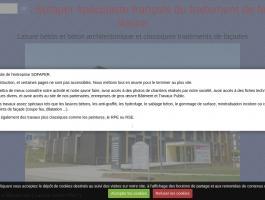 SOFAPER spécialiste français du traitement de façade en lasure