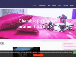 Chambres d'hôtes et location La Villa Sam