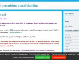 persothème astral blandine
