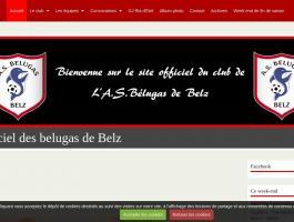 AS Belugas Belz  site officiel