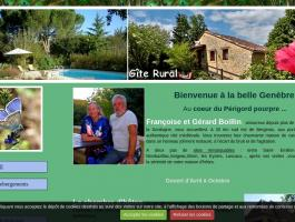 chambres d'hôtes et gîte rural dordogne 24560. LA GENEBRE -BOILLIN-