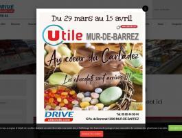 Epicerie utile à Mur-de-Barrez dans l'Aveyron