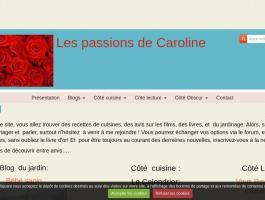 Les passions   de Caroline